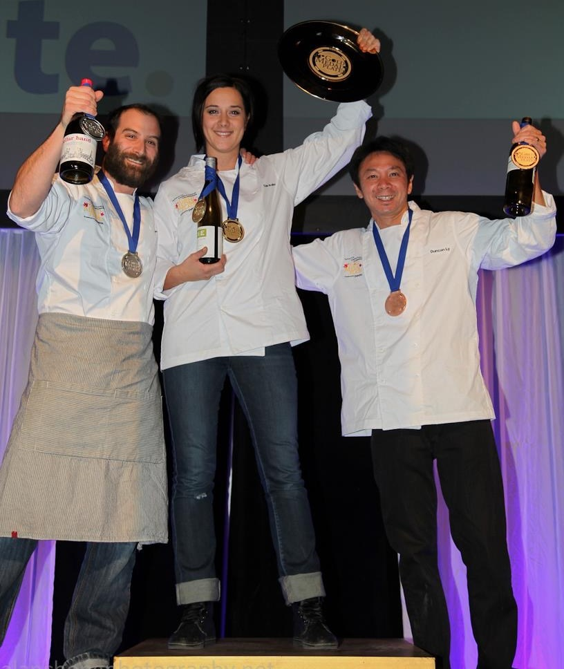 Eden Hrabec wins the Canadian Gold Medal Plates in 2012